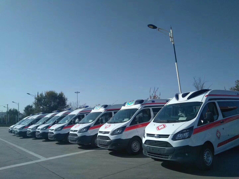 福特新全顺V362救护车图片图片