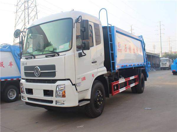 东风天锦(12方)压缩式垃圾车
