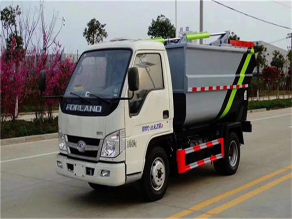 福田小卡(4方蓝牌)压缩式垃圾车