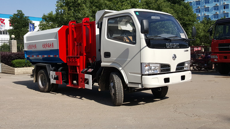 掛桶垃圾車配置 3方掛桶垃圾車廠家價格多少錢