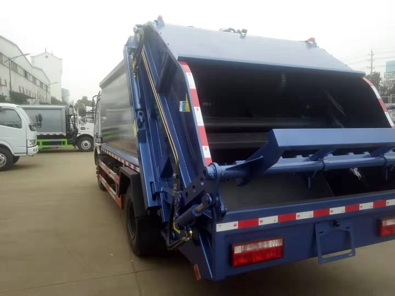 东风压缩垃圾车厂家压缩垃圾车价格多少钱图片