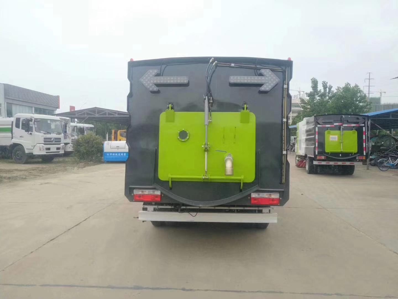 东风小型6方洗扫车图片