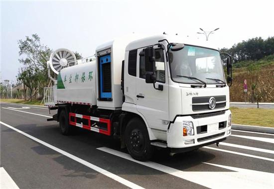 东风天锦10吨多功能抑尘车