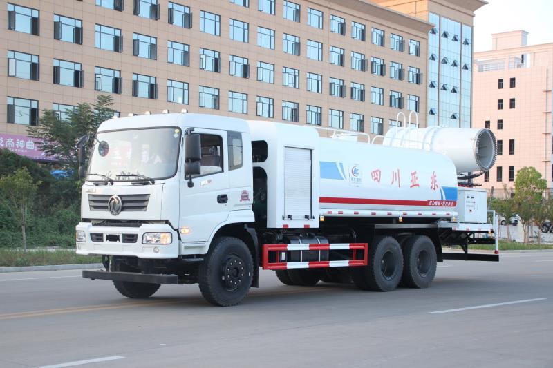 东风御龙后双桥15吨多功能抑尘车