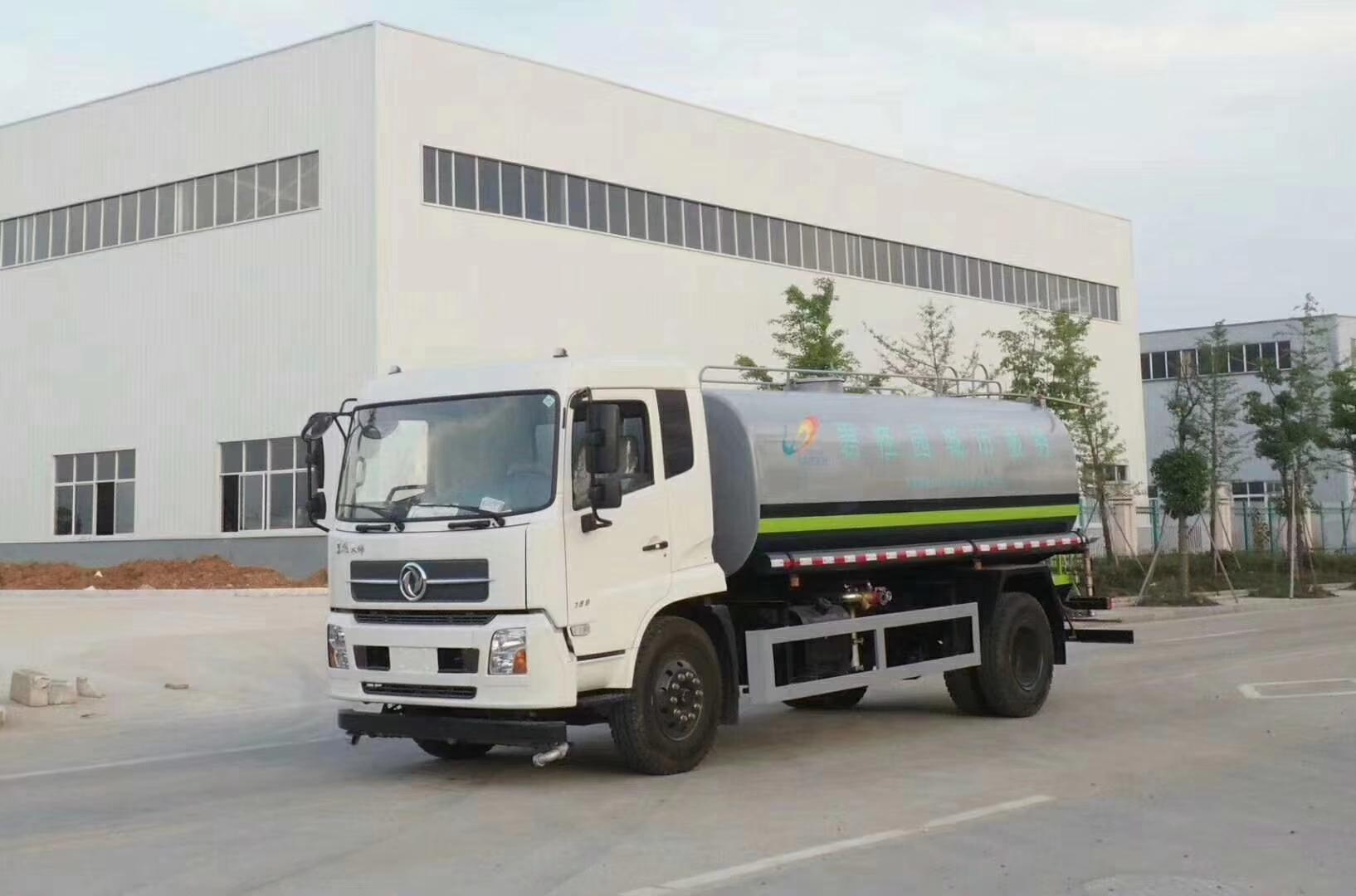 东风天锦绿化15吨喷洒车图片
