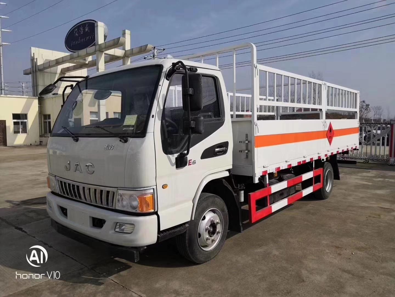 江淮骏铃E6气瓶运输车图片