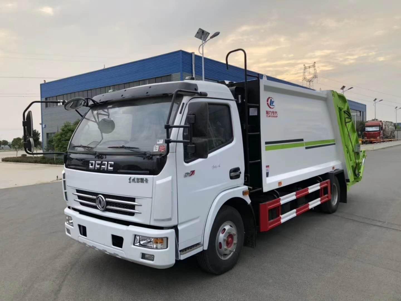 最新款压缩式垃圾车,最强环卫压缩式垃圾车生产厂家图片