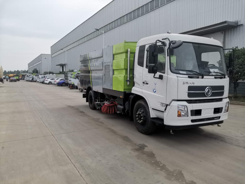 东风天锦大型洗扫车生产厂家