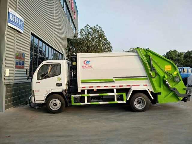 东风多利卡5吨压缩垃圾车厂家视频