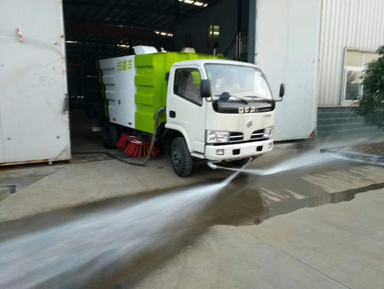 东风福瑞卡扫路车,5吨扫路车生产厂家图片