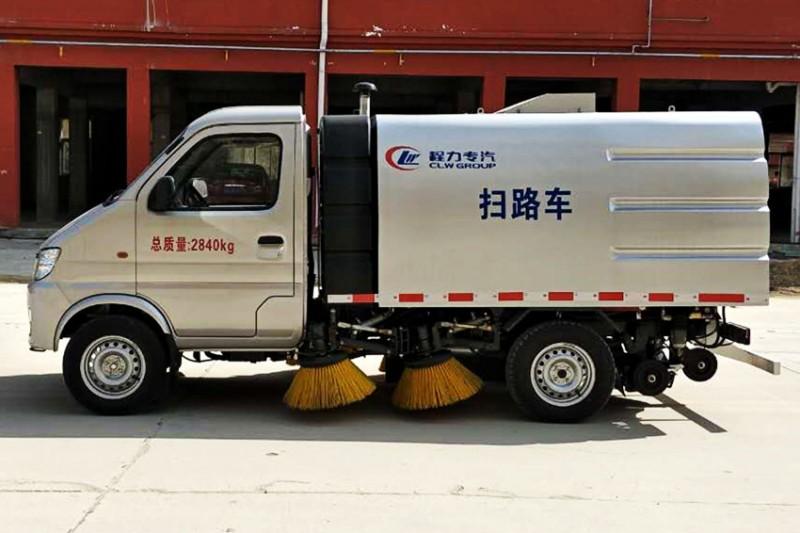 乡镇道路小型扫路车,人行道长安小型扫路车