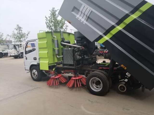 8吨五十铃高端洗扫车生产厂家