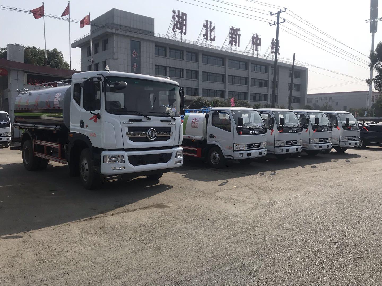 陕西东风多利卡D9绿化洒水车价格配置图片