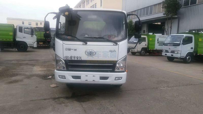 解放虎威扫路车生产厂家