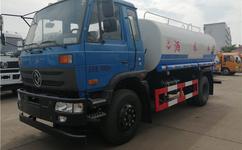 東風145國五12方灑水車出廠價格