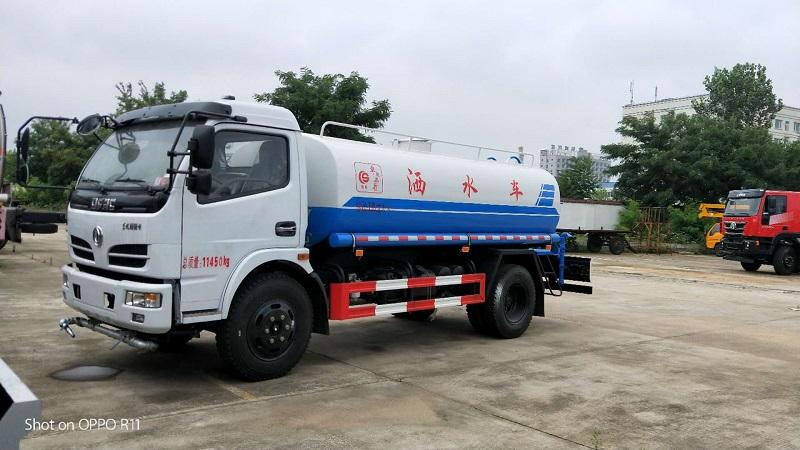 灑水車廠家供應園林綠化灑水車 東風多利卡8噸灑水