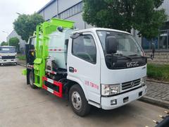 程力公司生产的东风多利卡4吨餐厨垃圾车特点简介