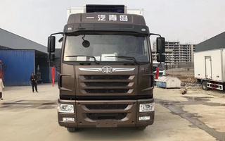 解放龙VH冷藏车_工厂价图片