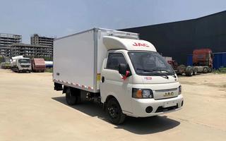 江淮康玲X5生猪冷冻车厂家实拍图片