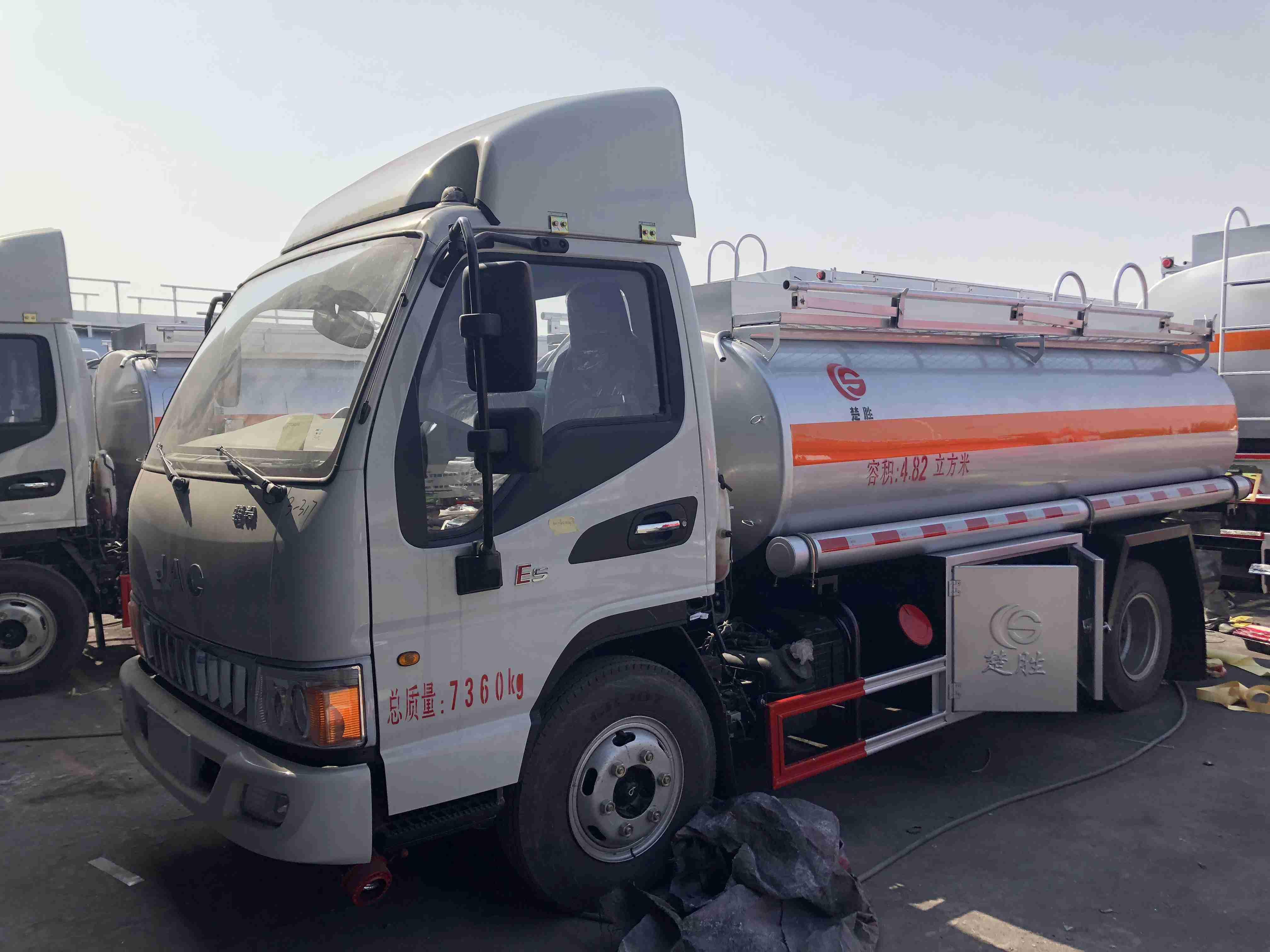江淮駿鈴5噸加油車