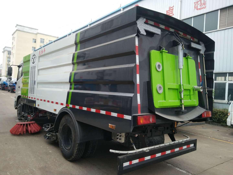 道路清洗洗扫车无尘干净清扫路面