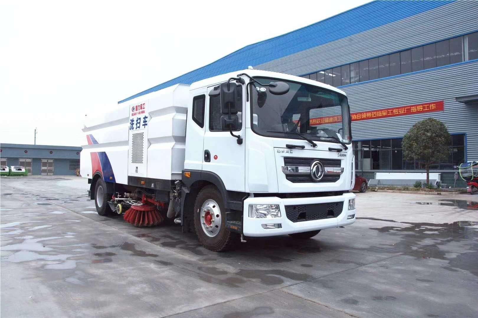 东风D9多利卡16吨洗扫车