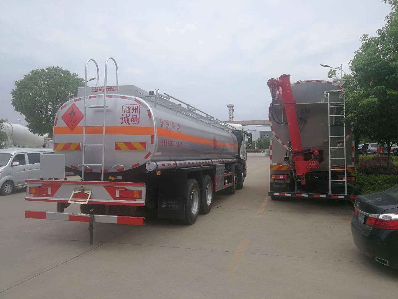 东风天龙16-20吨油罐车图片