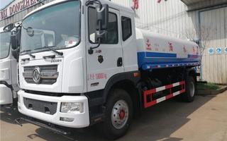國五東風12立方灑水車價格廠家直銷