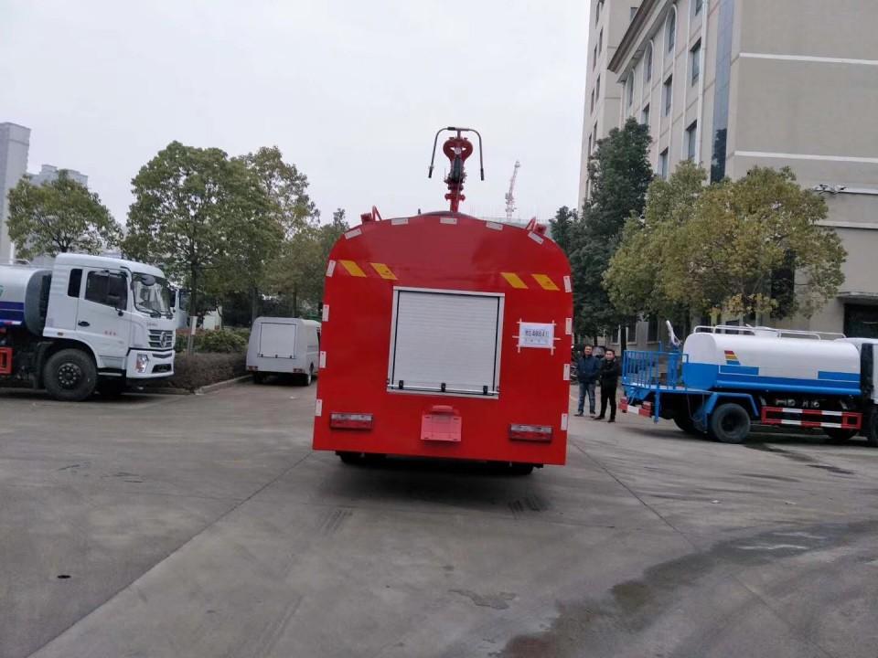東風專用底盤消防灑水車(10立方)圖片