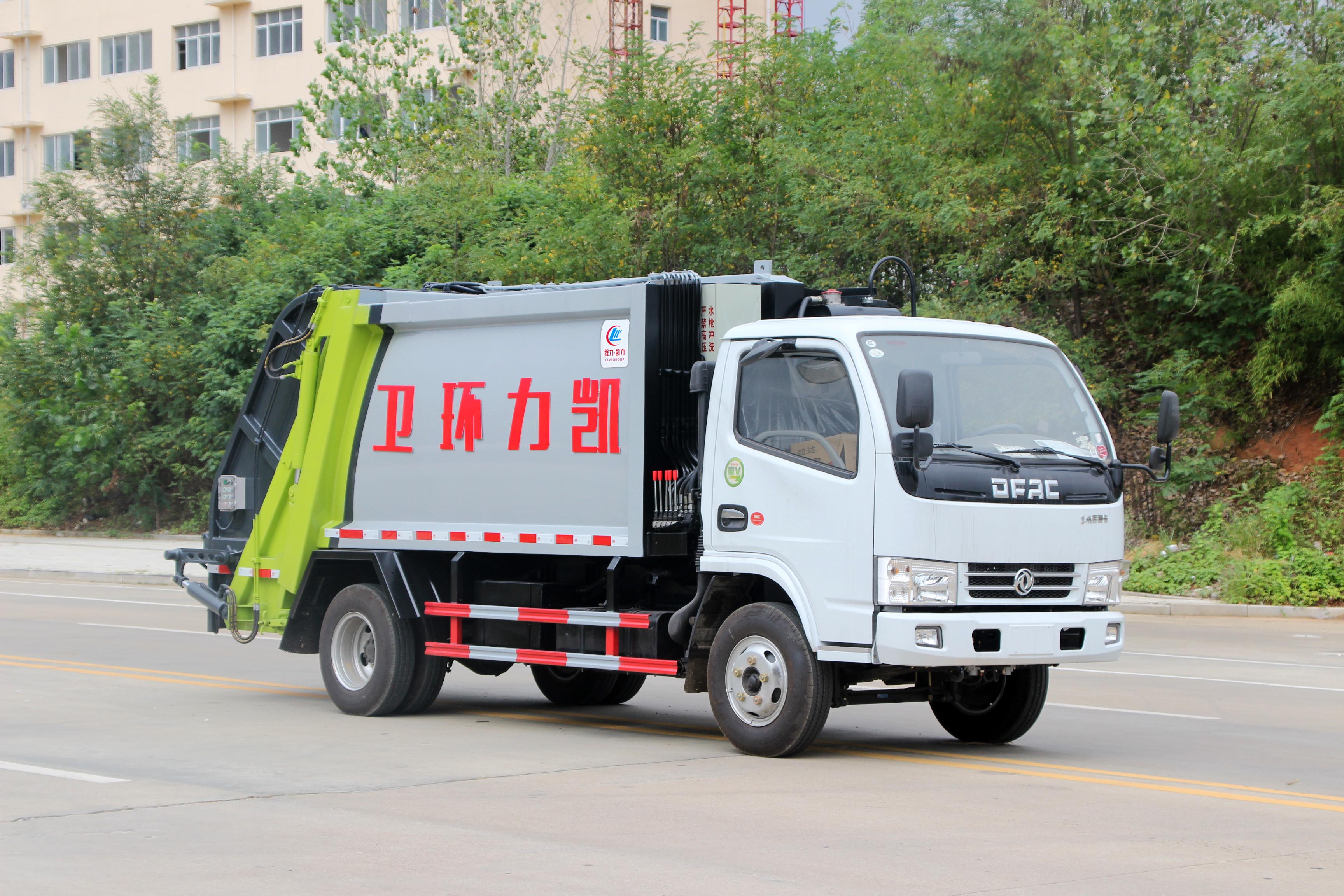 5方压缩垃圾车图片 东风小多利卡压缩垃圾车图片图片