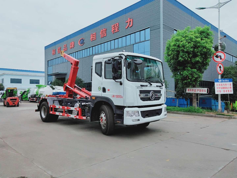 东风多利卡系列12吨勾臂垃圾车