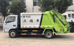 東風多利卡5噸壓縮式垃圾車