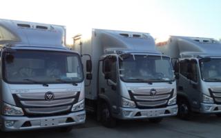 福田冷藏车 9.6米冷藏车图片