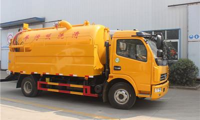 东风6吨清洗吸污车厂家直销