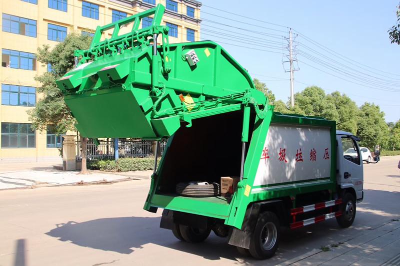 压缩垃圾车的春天即将到来 压缩垃圾车配件有哪些视频