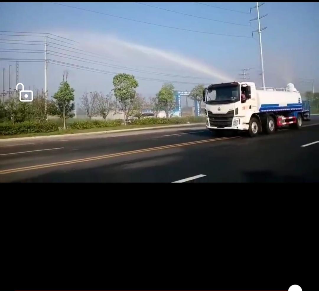 柳汽乘龙20吨洒水车车型介绍