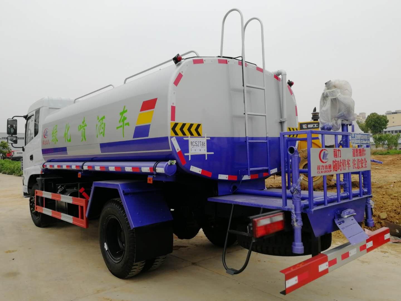 12吨洒水抑尘车图片