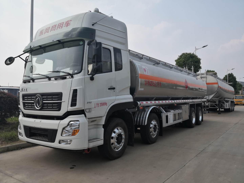 东风天龙20吨铝合金油罐车