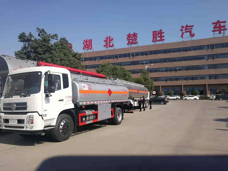 东风天锦12吨油罐车图片