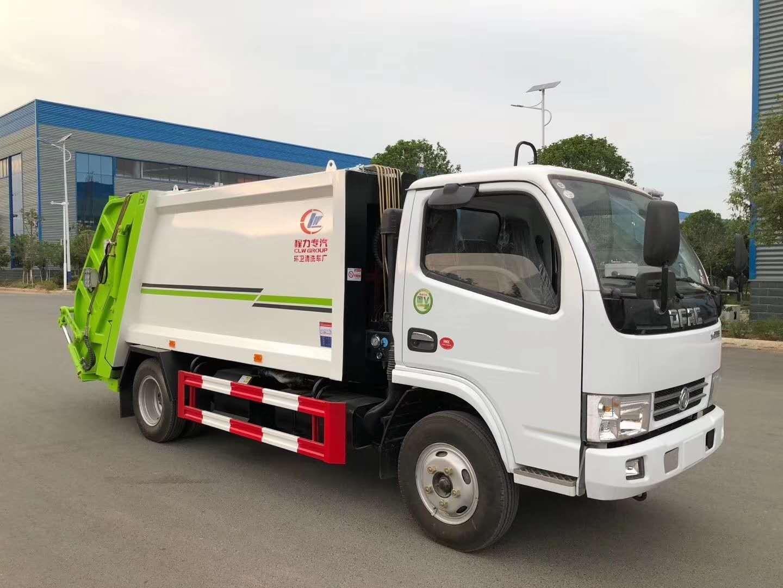 東風小多利卡壓縮垃圾車價格歡迎來廠試車一鍵獲取價格表圖片
