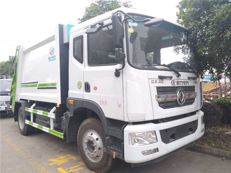 多利卡D9壓縮垃圾車價格城市垃圾分類垃圾清運廠家歡迎看車試車圖片