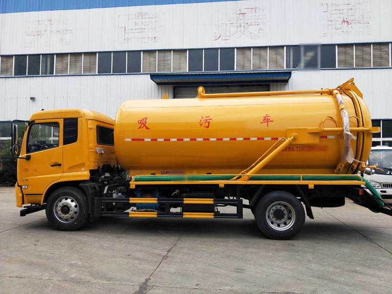 12吨吸污车-东风天锦210马力吸污车厂家价格