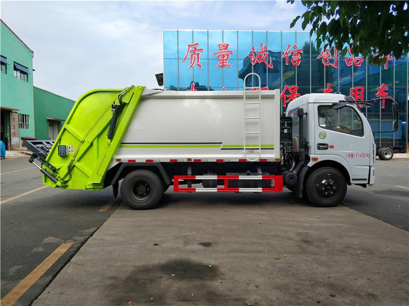能装100个垃圾桶的垃圾车 厂家直销视频
