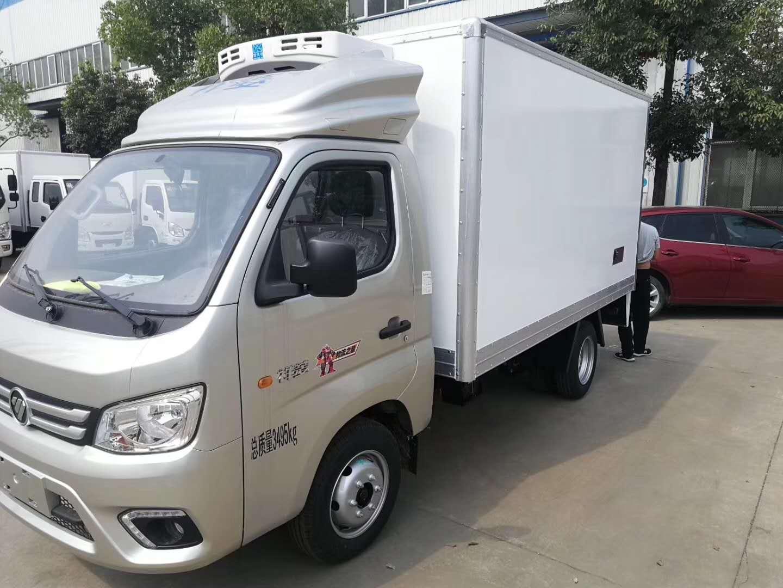 福田蓝牌冷制品运输冷藏车厂家优惠价