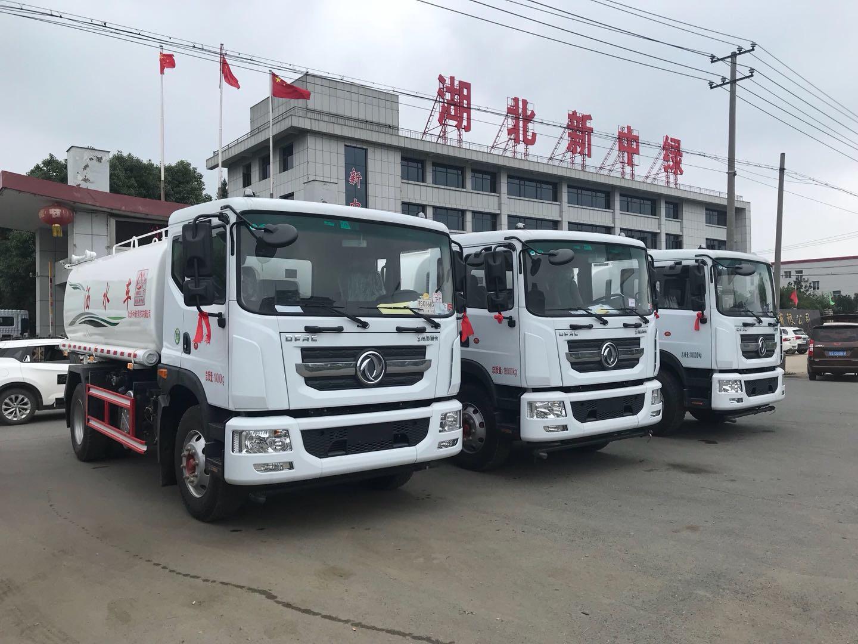 自贡地方东风12吨洒水车价格配置
