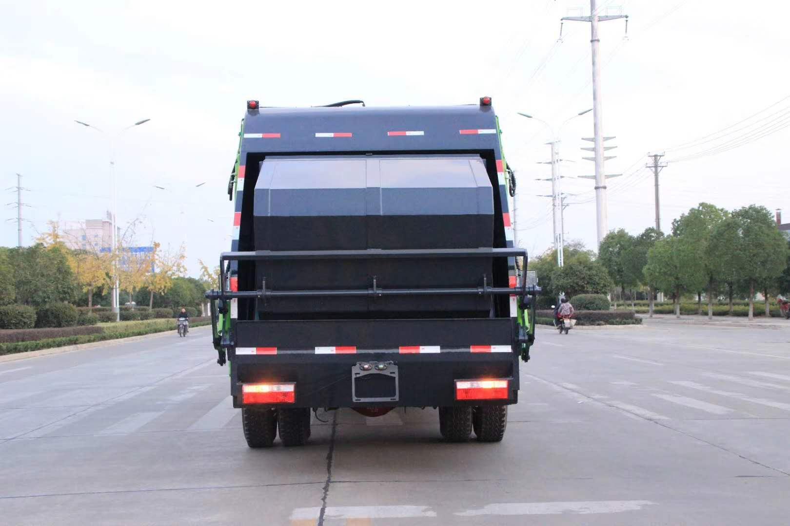 藍牌4.5方壓縮垃圾車