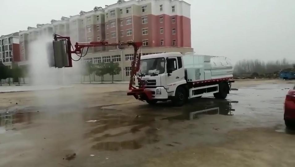 天锦隧道清洗车视频