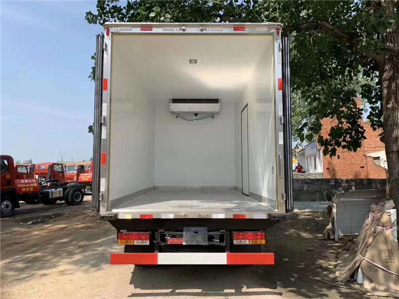 冷藏车拉鲜肉 大运蓝牌冷藏车 4米2冷藏车上 蓝牌冷藏车(图7)