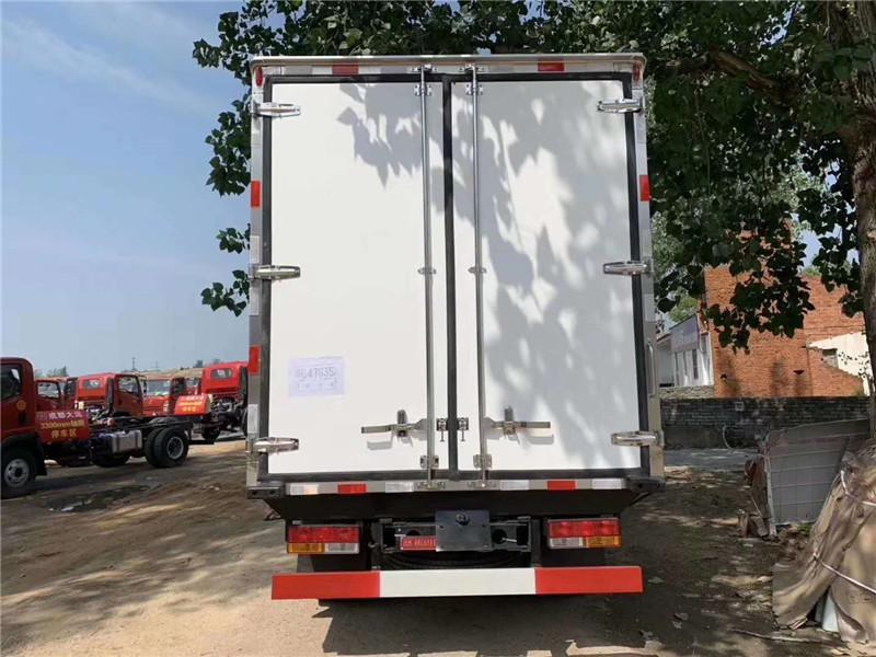 冷藏车拉鲜肉 大运蓝牌冷藏车 4米2冷藏车上 蓝牌冷藏车(图8)