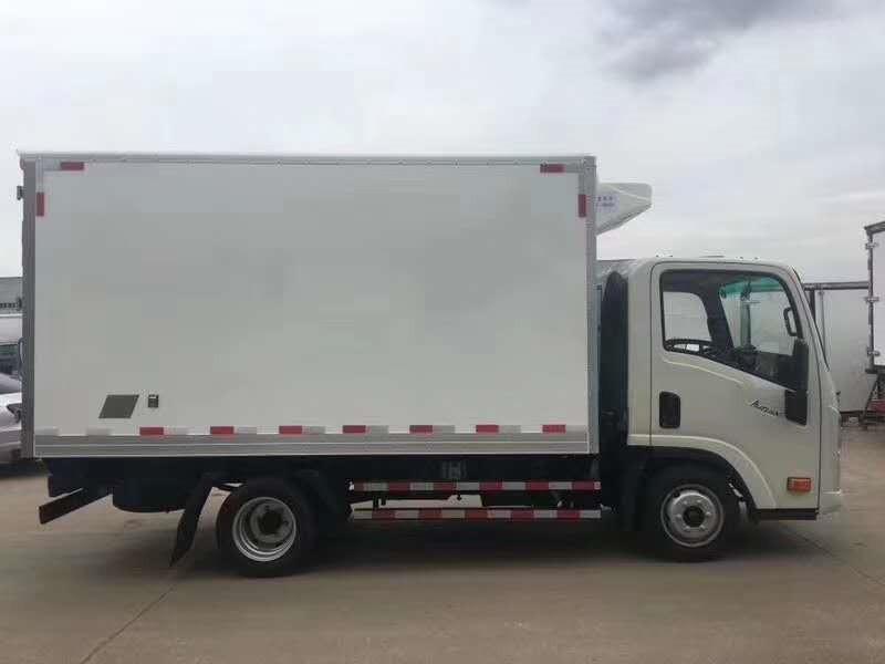 冷藏车拉鲜肉 大运蓝牌冷藏车 4米2冷藏车上 蓝牌冷藏车(图10)